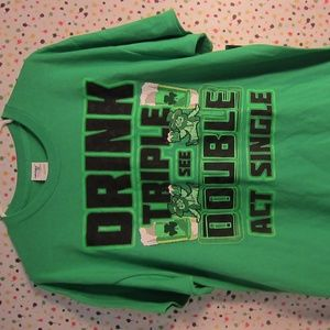 Drink Triple See Double Act Single Sz L
